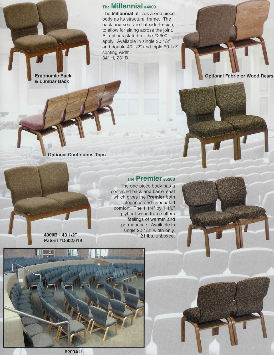 Chancellor Church Chairs